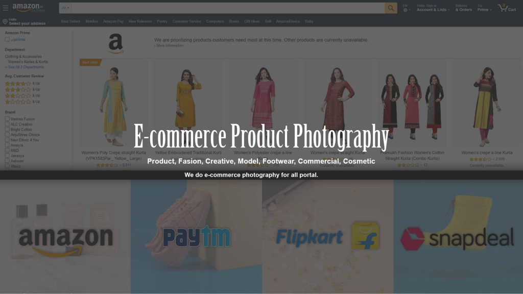 ecommerce photography service gurgaon