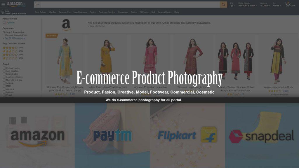 ecommerce photography service gurgaon