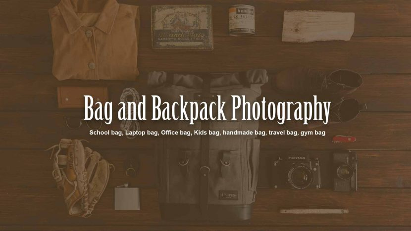 Backpack photography