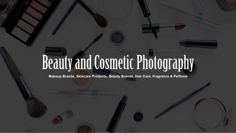 Beauty and Cosmetic Photography