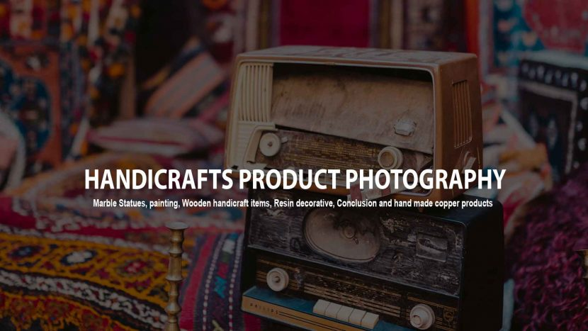 handicraft product photography