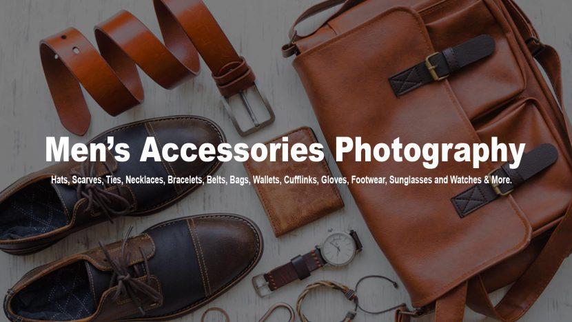 Men accessories photography