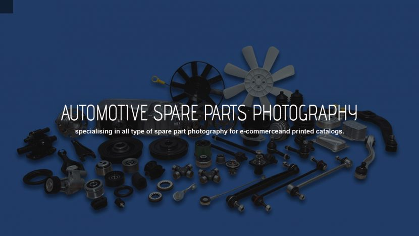 automotive spare parts photography