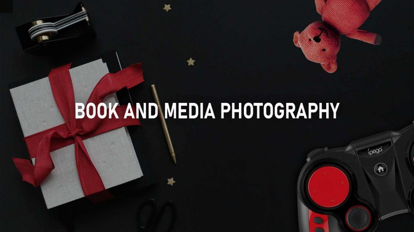 book and media photography