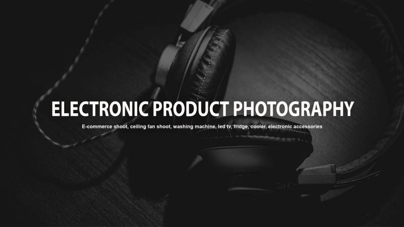 Electronic Product Photography