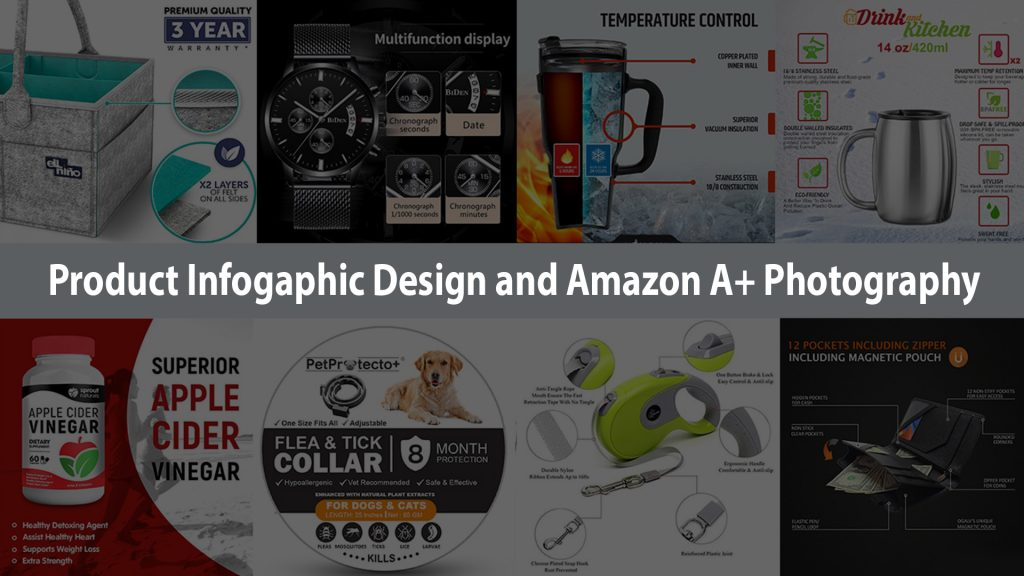 product infographic design