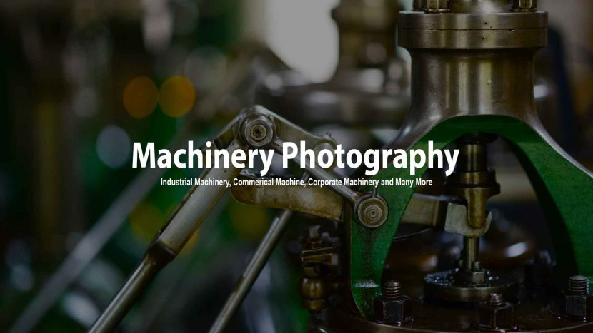 Machinery Photography in delhi