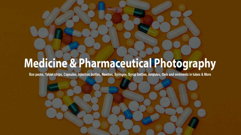 Medicine and Pharmaceutical photography