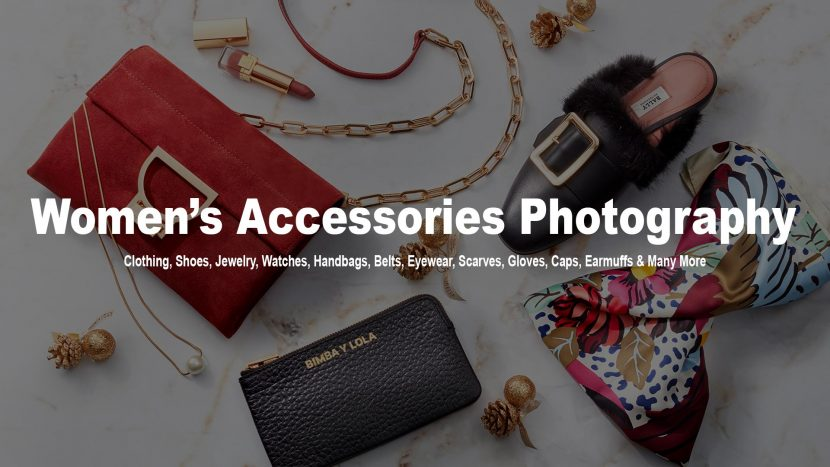 women accessories photography